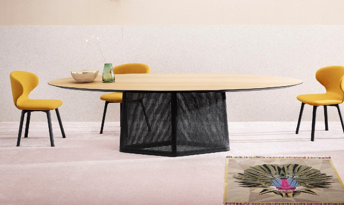 Tavolo Rettangolare Che Diventa Quadrato.10 Tavoli Rotondi E Ovali Per La Sala Da Pranzo Casafacile