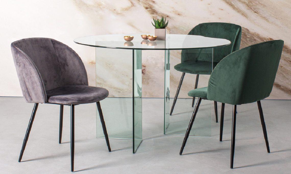 Tavolo Tondo Allungabile Cristallo.10 Tavoli Rotondi E Ovali Per La Sala Da Pranzo Casafacile