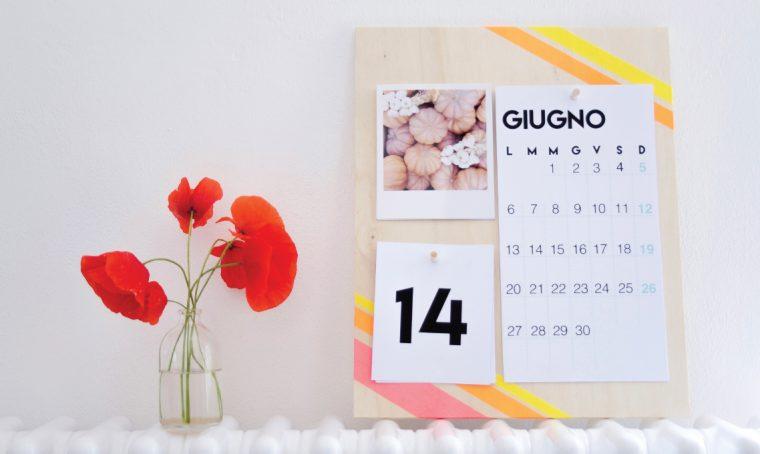 Come creare un calendario perpetuo personalizzato