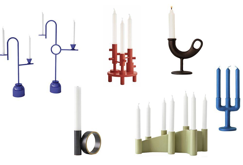 Candelieri per illuminare l'ambiente