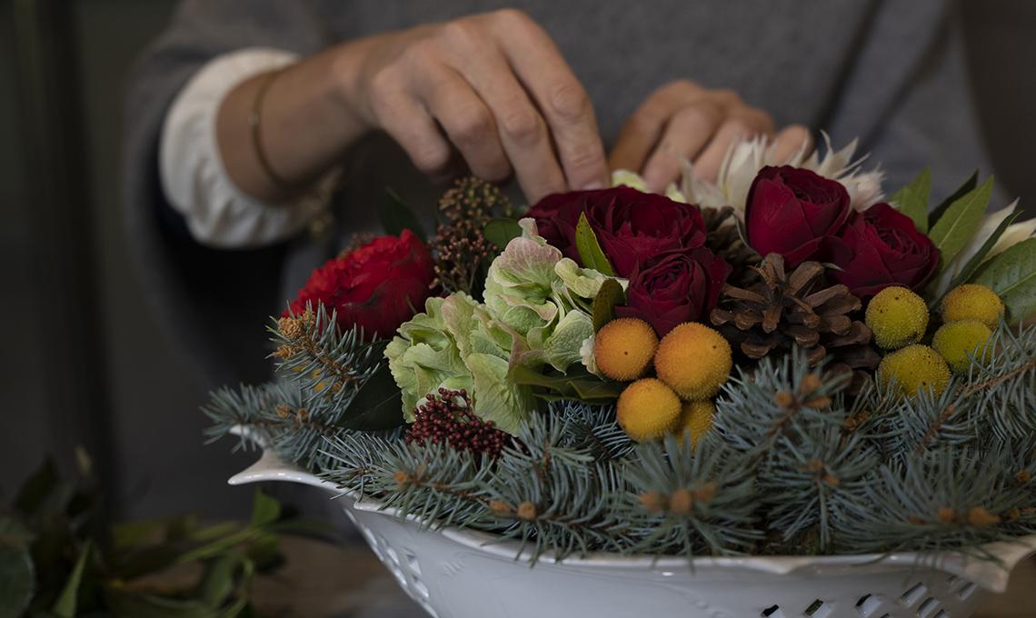 casafacile-centro tavola-natale