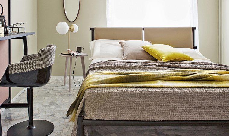 Camera: 4 progetti con il letto a centro stanza