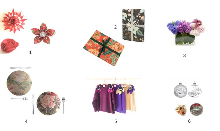 6 modi per non rinunciare a un tocco floreale nel periodo delle feste