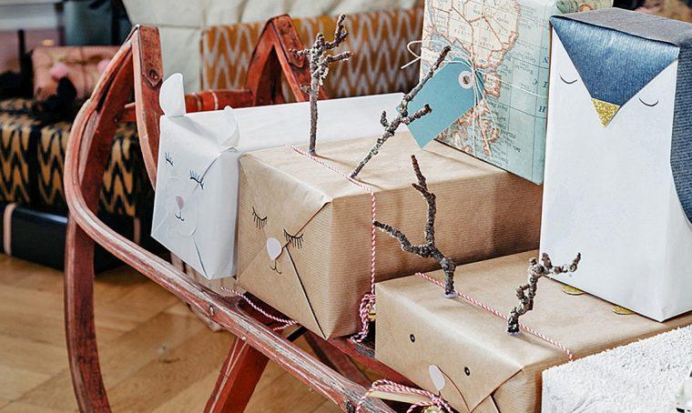 Come fare i pacchetti a forma di renna