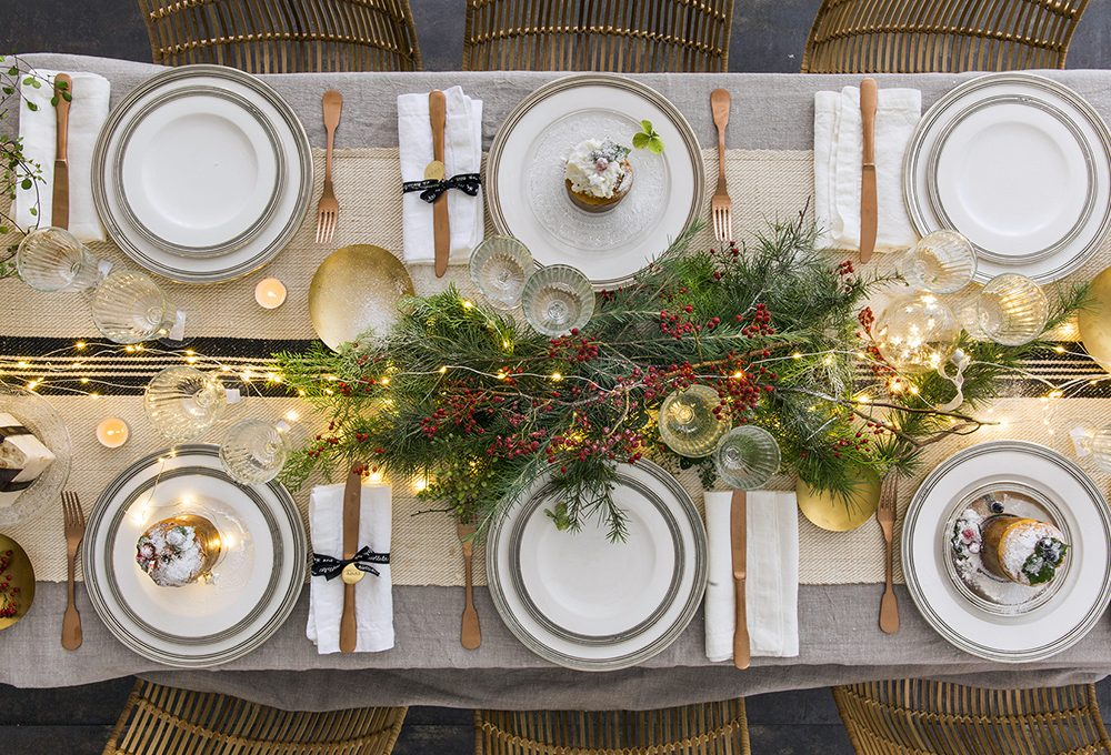 Idee shopping per la tavola di Natale