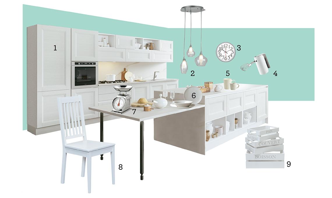 Mercatone Uno: la cucina reinterpreta lo stile classico - CASAfacile