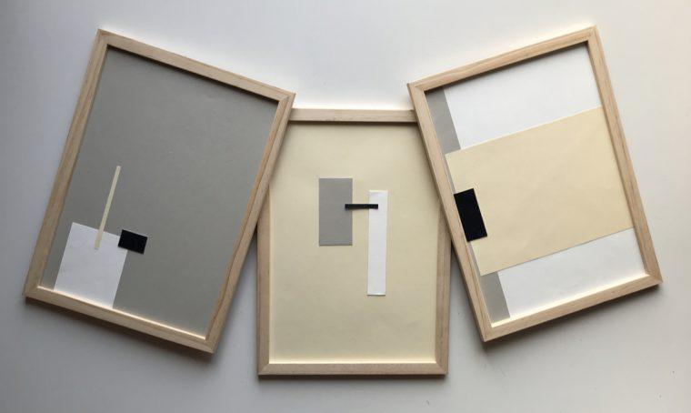 Decorare le pareti con il 'trittico minimalista' fai-da-te