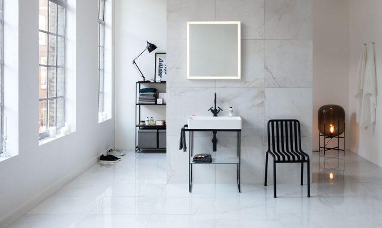 Lavabi free-standing e a parete per bagni minimal