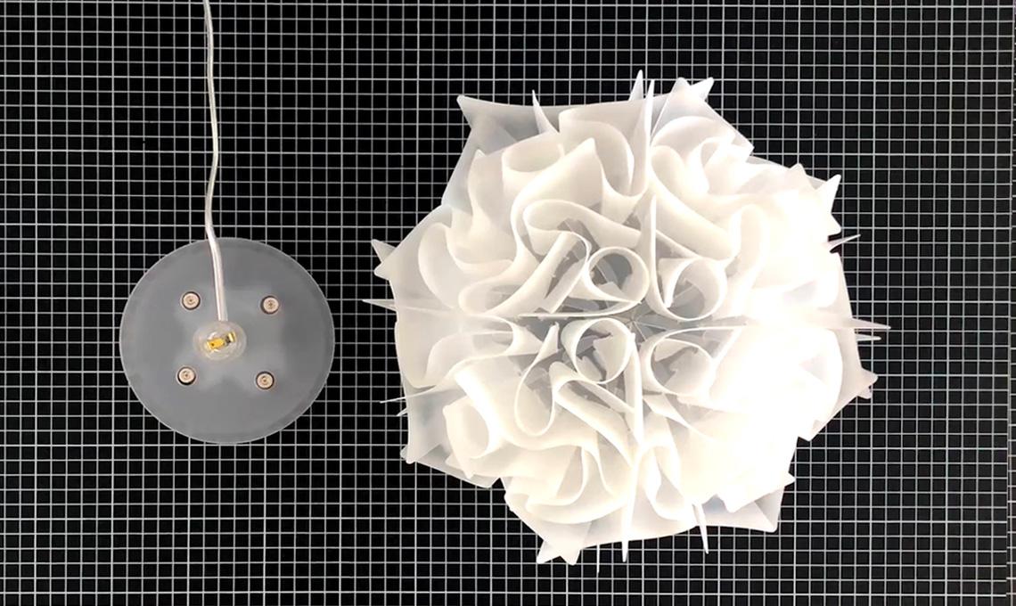 Come si monta la lampada da tavolo veli di slamp casafacile