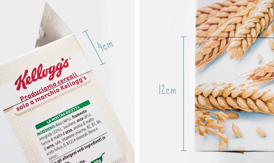 da scatola di cereali a portariviste