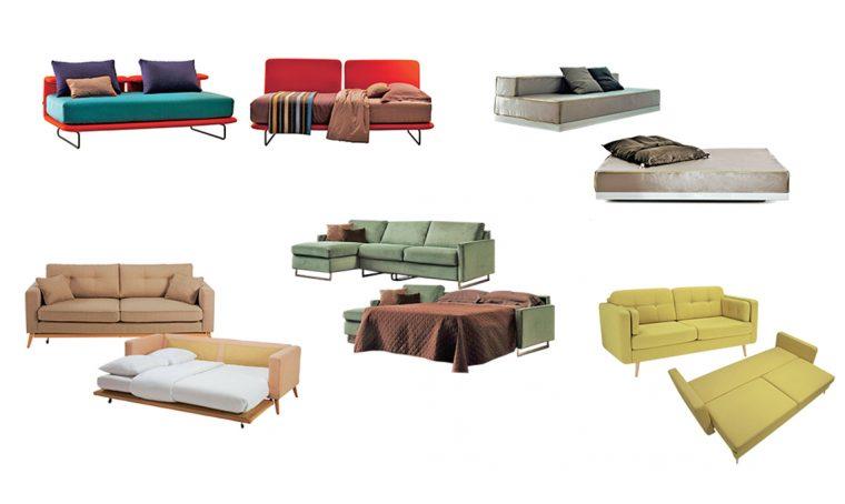 5 divani trasformabili su misura per ogni spazio