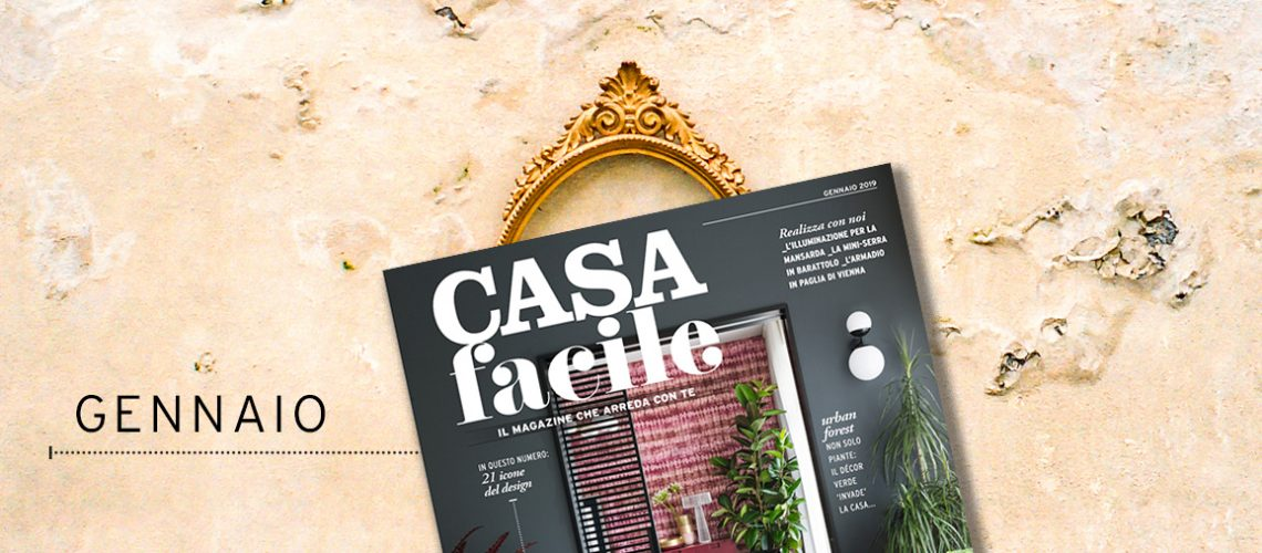 CasaFacile: il numero di gennaio 2019