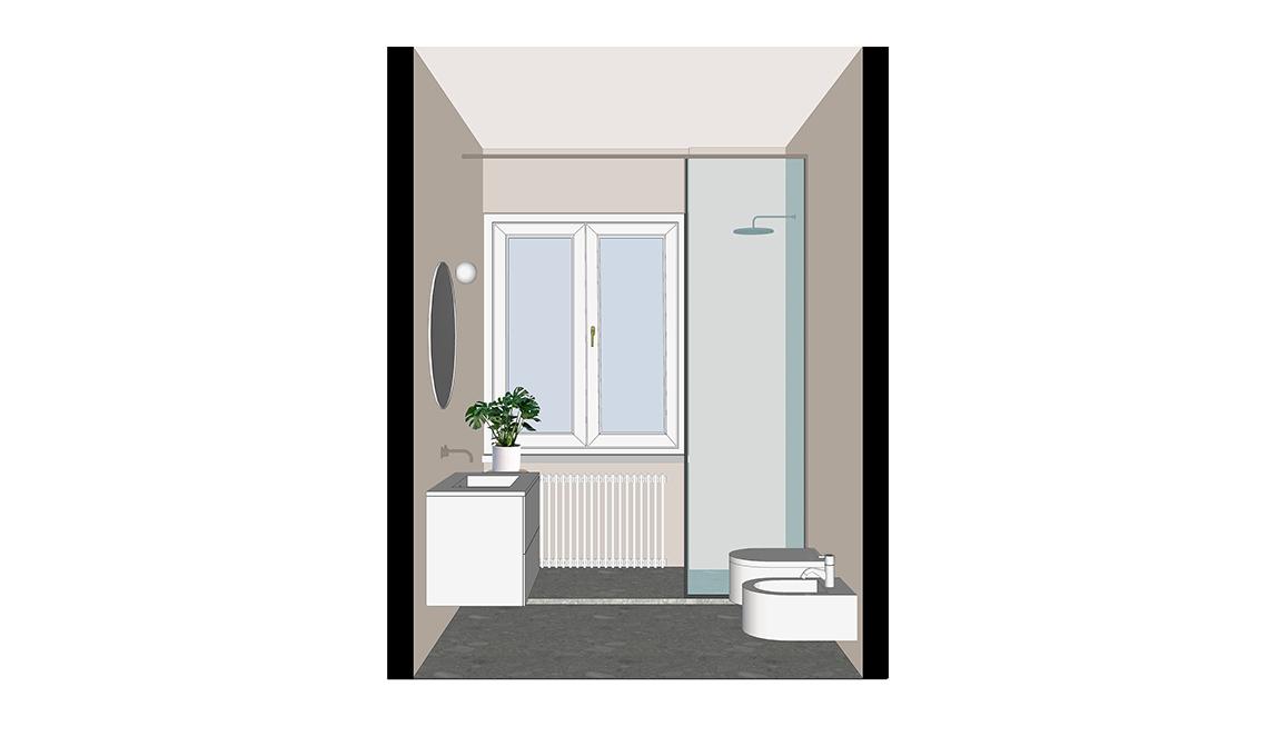 Bagni Con Doccia Alla Finestra : La doccia sotto la finestra ottimizza lo spazio in bagno casafacile
