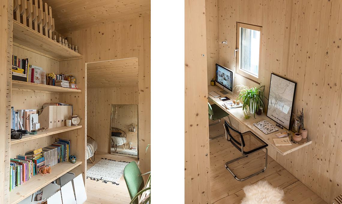 Rivestimento Casa In Legno : La villetta prefabbricata con rivestimento esterno in doghe di