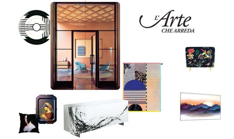 Arte che arreda: quando il design incontra l'arte