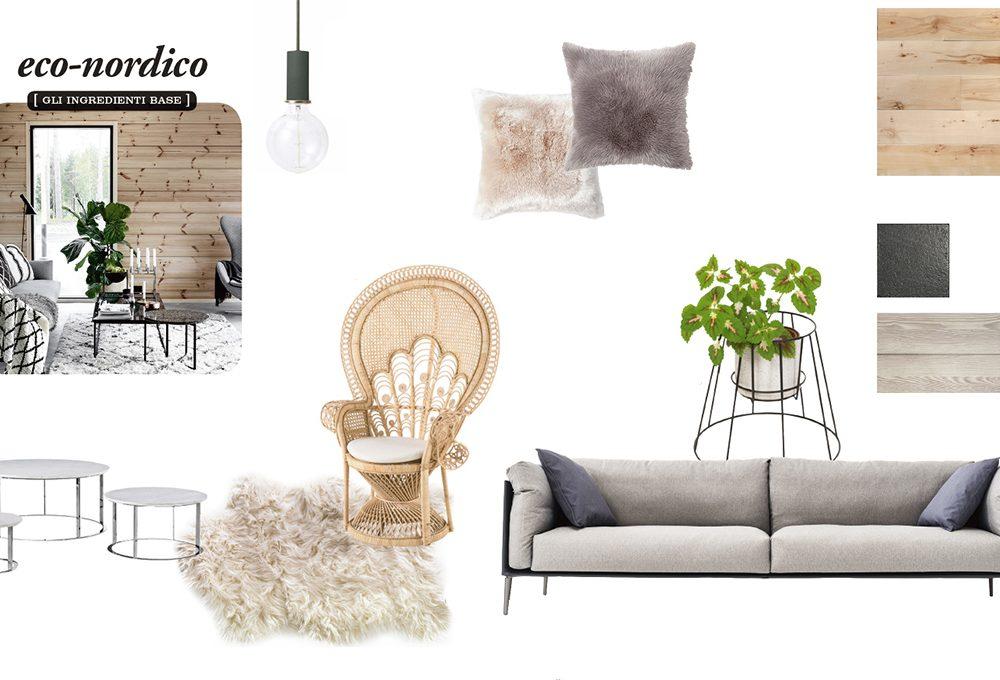 Come ricreare lo stile eco-nordico nel soggiorno