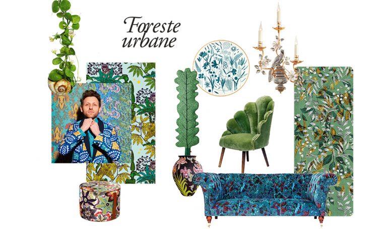 Foreste urbane: la natura si trasforma in decorazione d'interni
