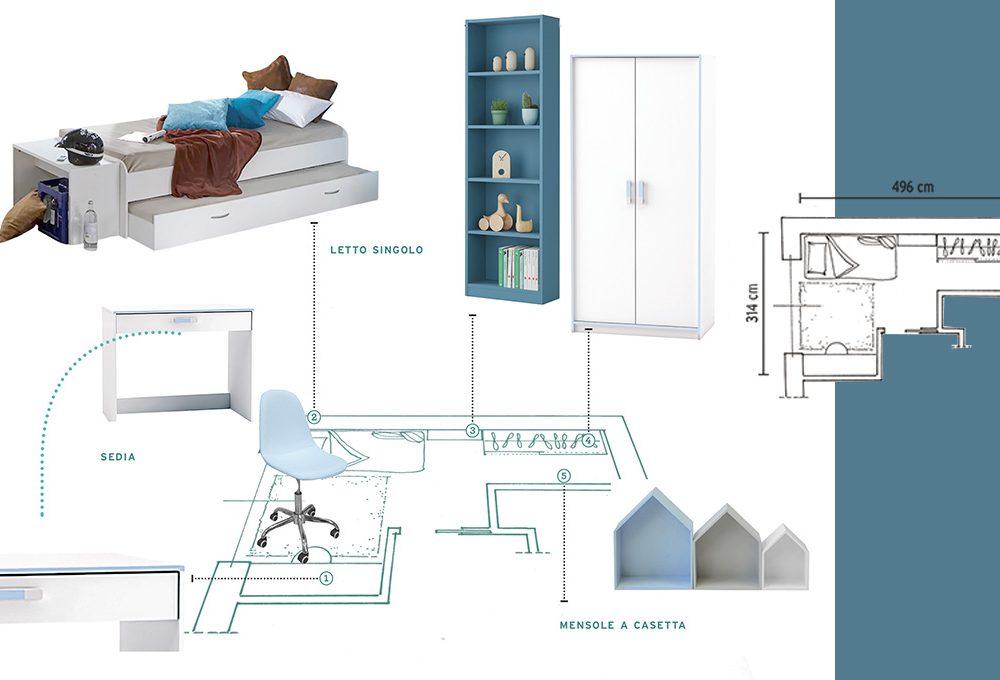 Come progettare la camera per un adolescente casafacile for Progettare la cameretta