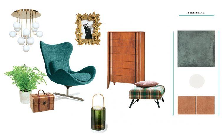 Arreda il soggiorno in stile classico
