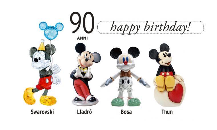 Buon compleanno Topolino, 90 anni di Mickey Mouse
