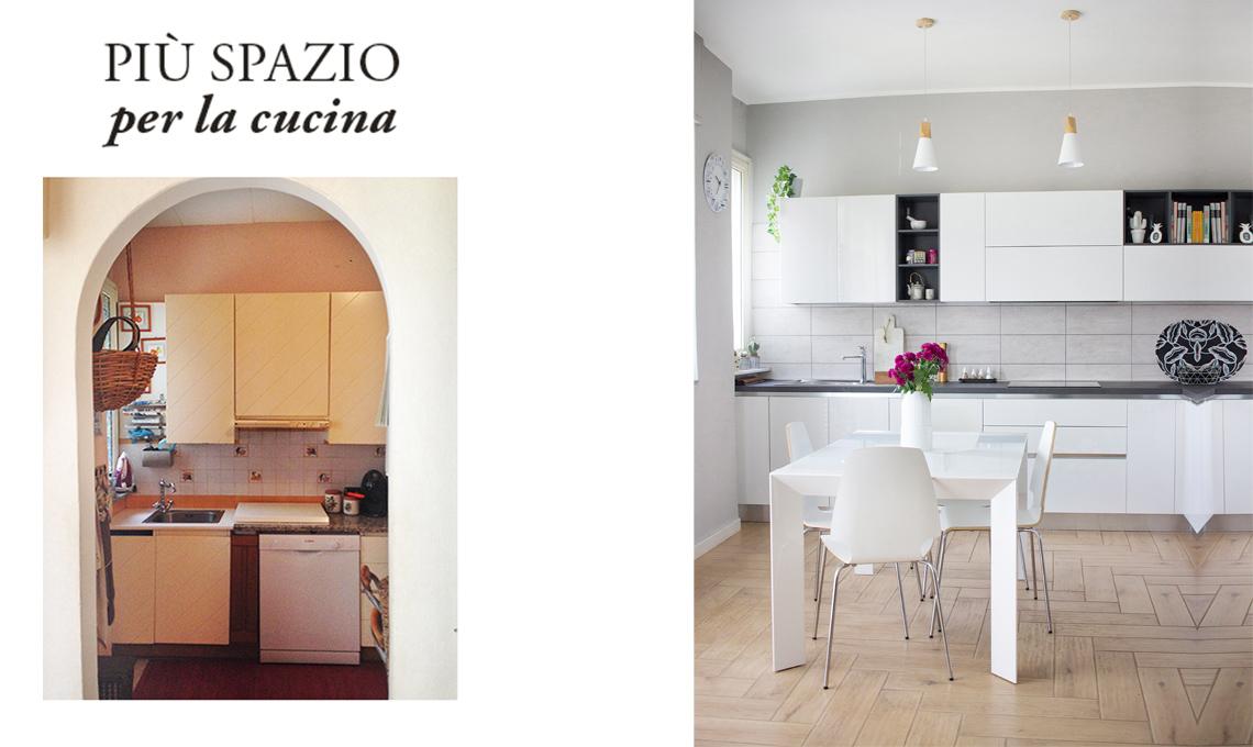 Ristrutturare come creare più spazio per la cucina casafacile