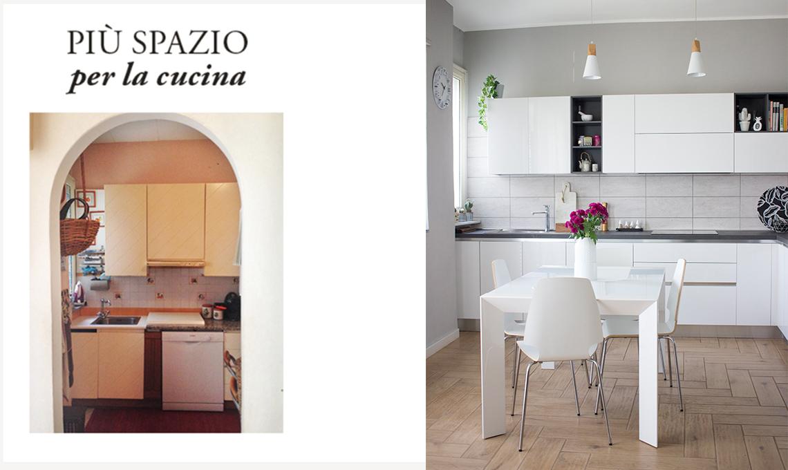 Ristrutturare: come creare più spazio per la cucina - CASAfacile