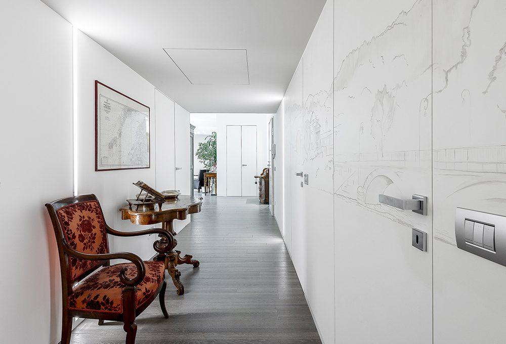 Riprogettare l'appartamento per ricavare nuovi spazi di servizio