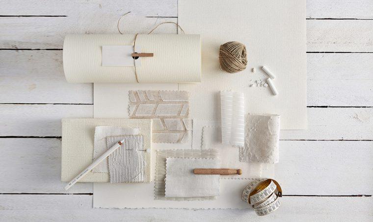 Scuola di bianco: il 'non-colore' su materiali e texture