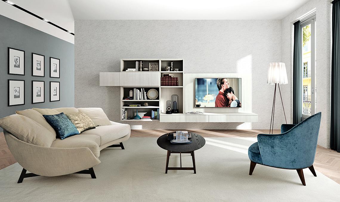 Realizzare l 39 angolo hi tech formato famiglia in salotto for Arredare un salotto