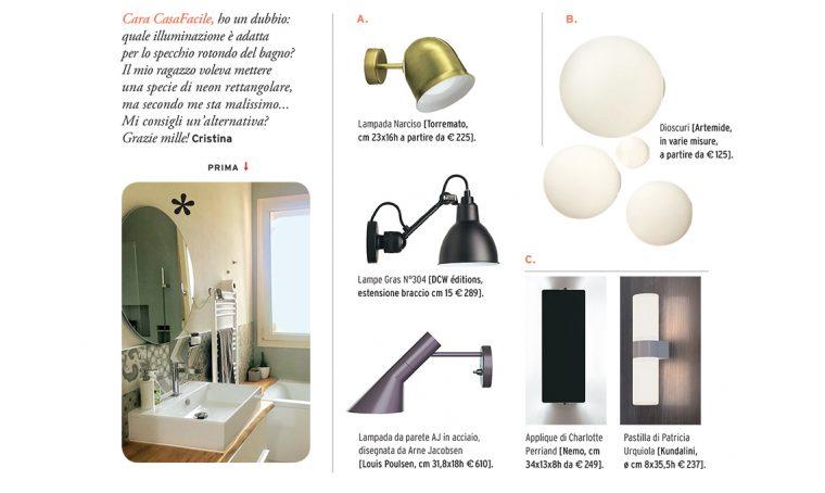 Come scegliere le applique per il bagno