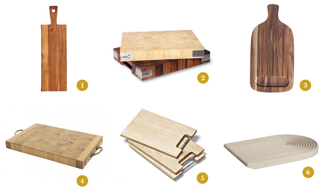 taglieri in legno per la cucina