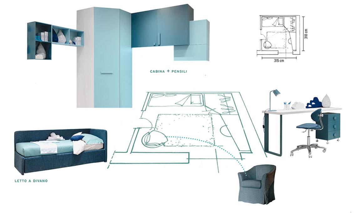 Progettare La Cameretta Dei Bambini.Come Progettare La Camera Per Un Adolescente Casafacile