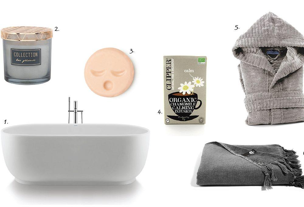 Gli indispensabili per un bagno all'insegna del relax