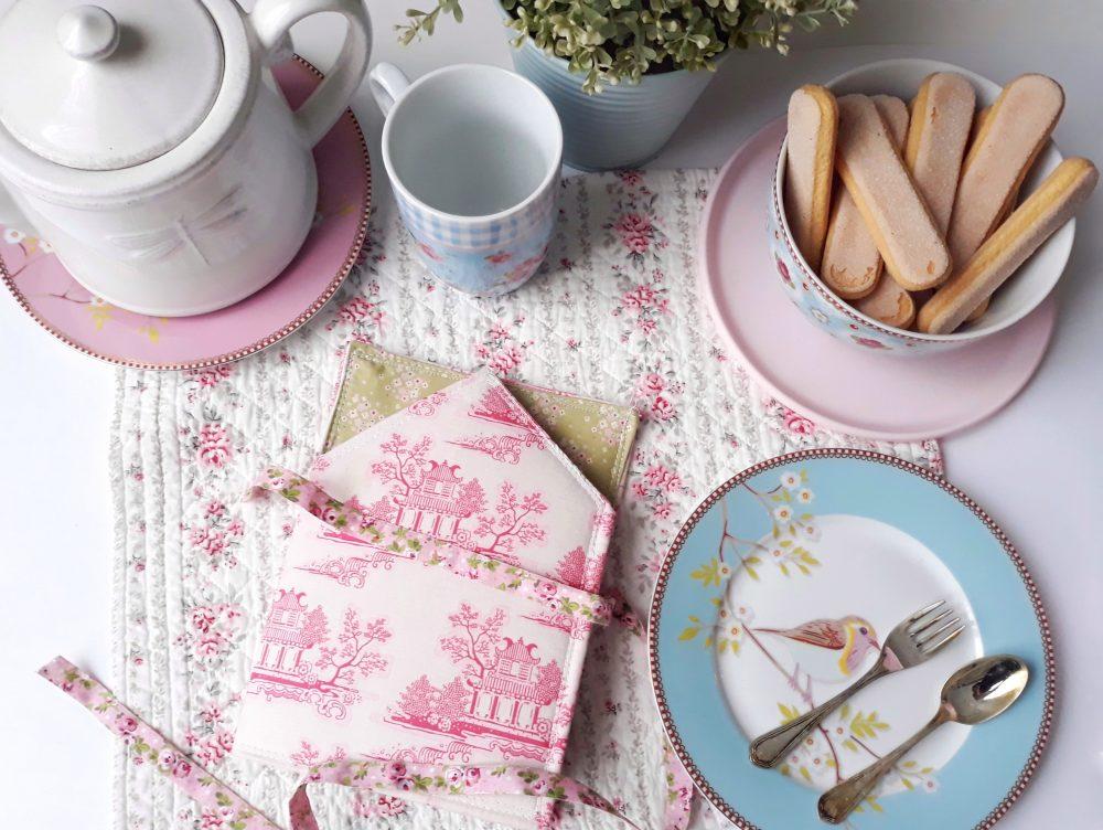 Realizzare un porta bustine da tè in tessuto