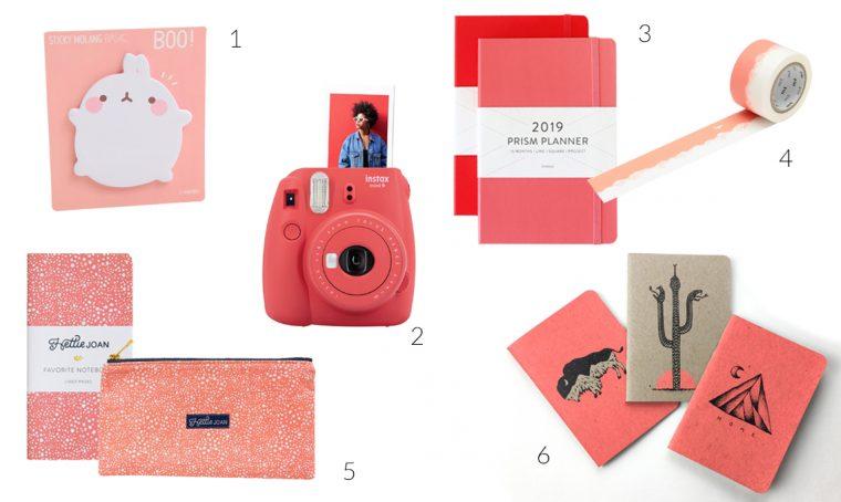 Living Coral: tingi la tua scrivania con il colore dell'anno!