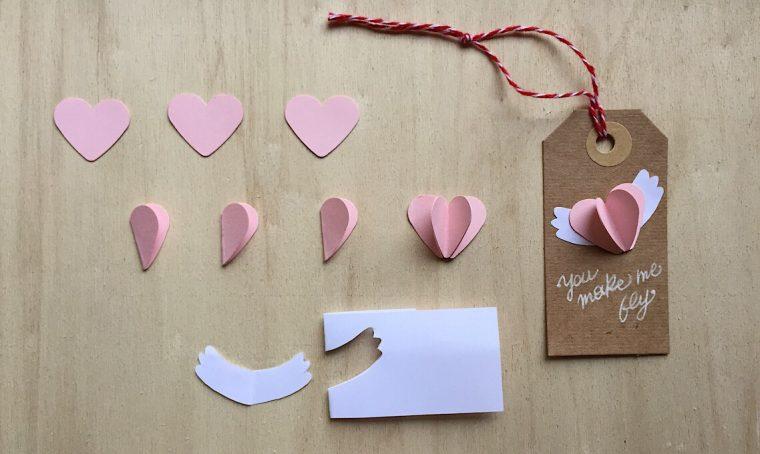 Come realizzare un chiudi pacco a forma di cuore