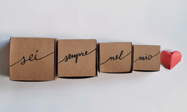 Come realizzare le scatole cinesi fai-da-te per San Valentino