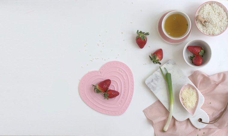 risotto con le fragole