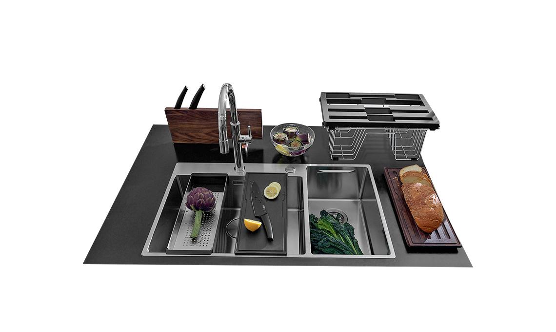 Gli accessori per il lavello della cucina che ti fanno ...