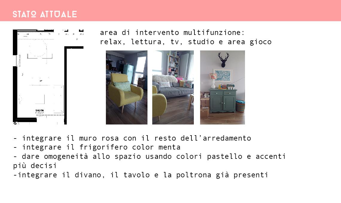 Consigli di colori per il soggiorno nei toni pastello ...