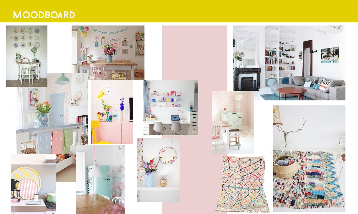 Consigli di colori per il soggiorno nei toni pastello - CASAfacile