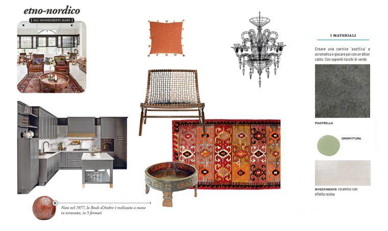 Come arredare la casa in stile etno-nordico