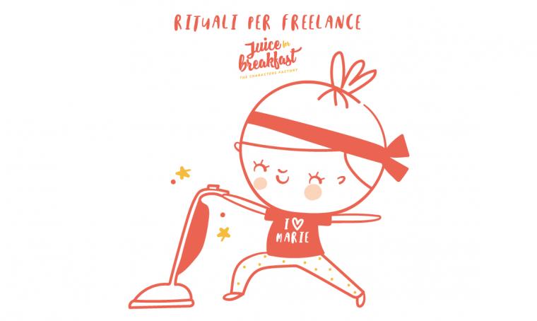 Come riordinare il luogo di lavoro e rituali per freelance