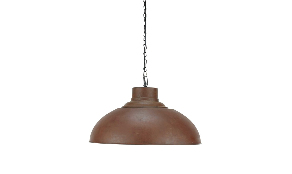 lampada stile industriale