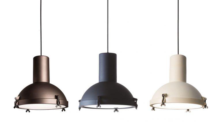 9 lampade da soffitto in stile industriale