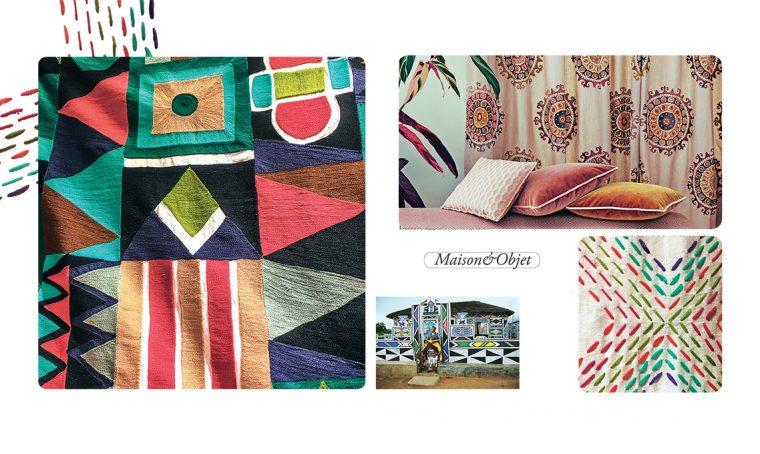 Maison&Objet 2019: le texture 'embroidery'