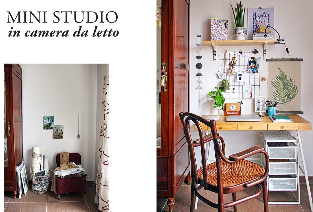 Come creare un mini studio in camera da letto