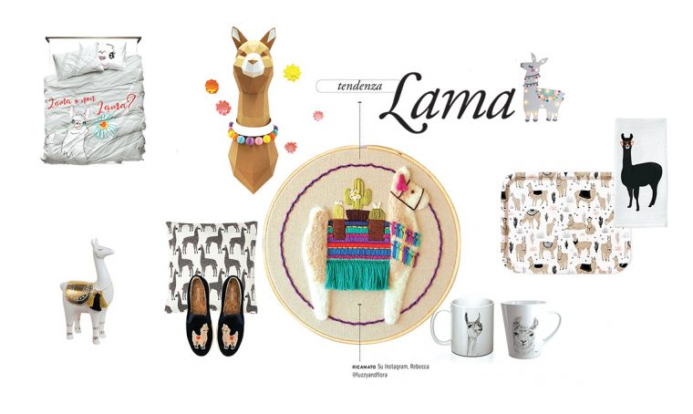 Il lama è il nuovo animale icona del design e della moda