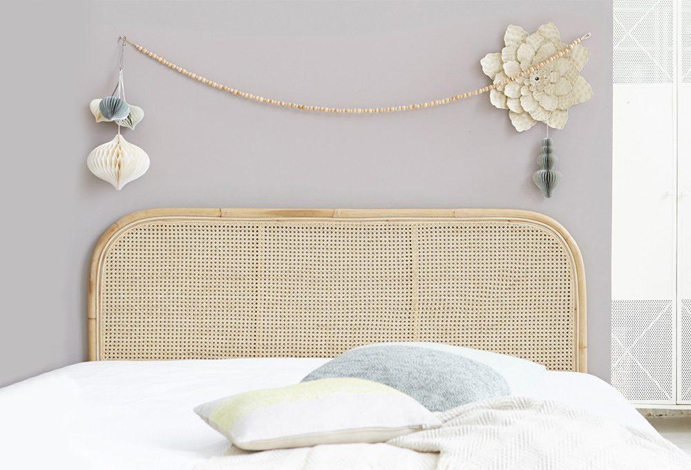 Tendenze: Paglia di Vienna in camera da letto