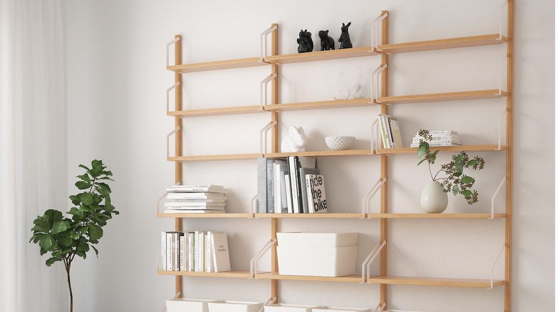 Ikea Mensole Sospese.Librerie Sospese Adatte Ad Ogni Ambiente Casafacile